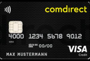Visa Karte Comdirect.Comdirekt Visa Karte Und Girocard Beste Kreditkarte