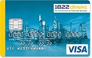 1822Mobile Visa Kreditkarte