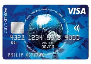 ISC Visa World Card