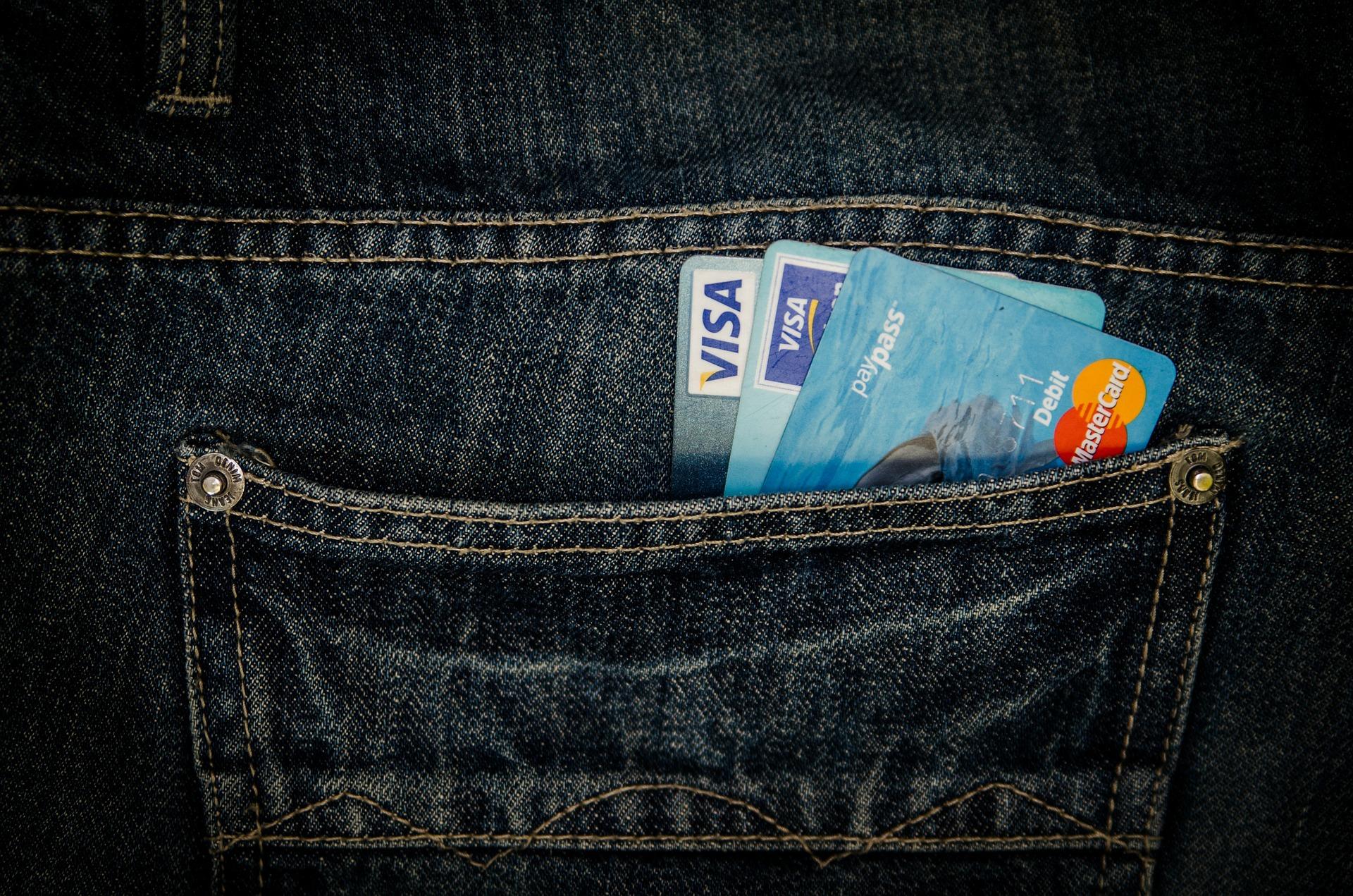 Mastercard oder Visacard